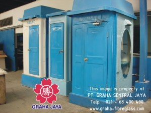 Toilet Portable Fiberglass - Graha Jaya