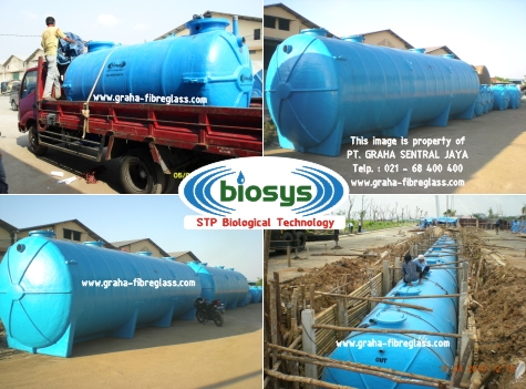 Water treatment dengan STP BioTech System BCO-Series